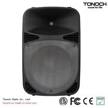 Aktive Lautsprecherbox mit 2 Mic Input in it