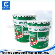 rubber floor paint pu liquid membrane waterproofing coating