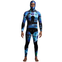 Seaskin Full Body dan Wetsuit Spearfishing Berkerudung