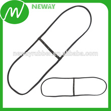 High Heat Temperature Resistant Clear Rubber Seal Gasket