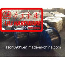 Fio de aço / fio da mola / fio da têmpera do óleo / fio de Spheroidizing / fio de aço inoxidável