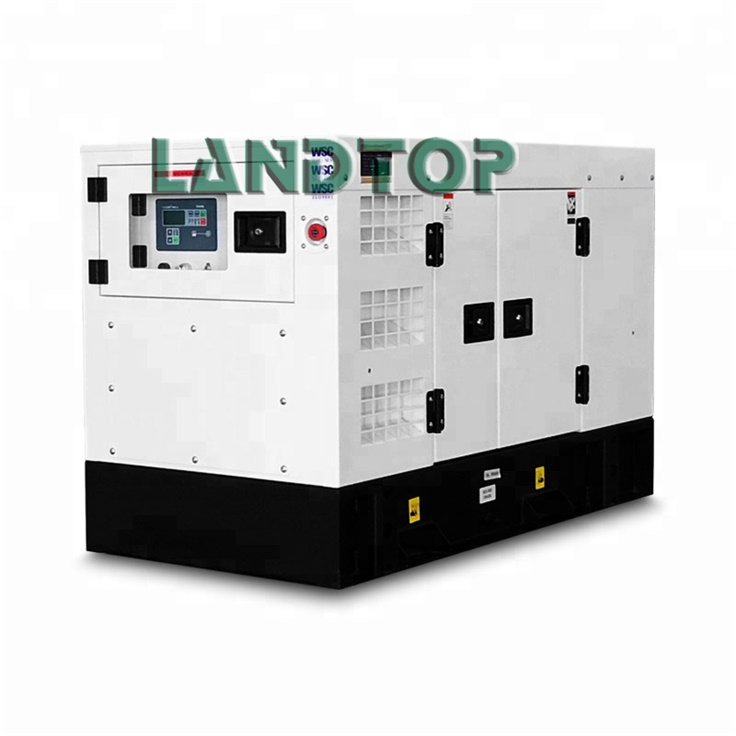 Type silencieux Yuchai Engine 15kw Diesel Generator Price