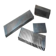 Ailettes en aluminium en métal ondulé pour refroidisseur intermédiaire