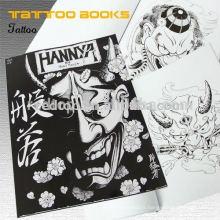 Livre japonais de conception de tatouage à chaud
