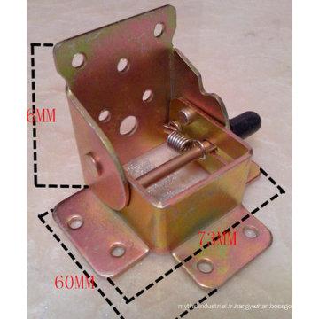 Le pliage de Tableau de estampillage en métal d'OEM relient la partie pour l'usage de meubles