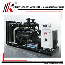 400KW/500KVA PORTABLE SUPER SILENT DIESEL GENERATOR WITH BEST STARTERS AND ALTERNAYORS AND TESLA TURBINE