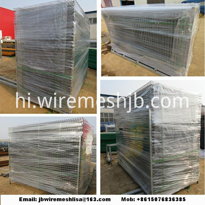 Peach Post Welded Wire Mesh Fence