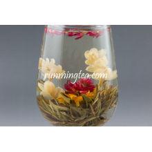 Yi Jian Zhong Qing(Love at the first sight green blooming tea)