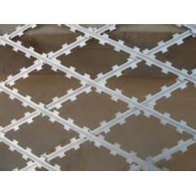 Diamond Opening Galvanized Razor Wire Fence