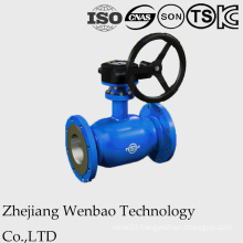Flanged Fully Welded Standard Port Ball Valve with Gear Handle