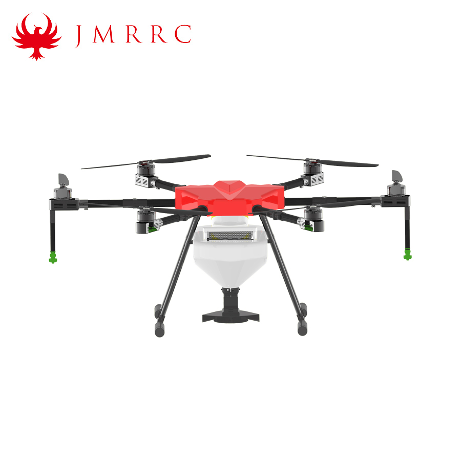 10L agriculture uav crop sprayer GPS 13L Fertilizer spreading drone