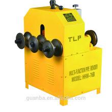 Máquina de dobra da tubulação de rolamento de Hongli HHW-76B para a tubulação de aço inoxidável