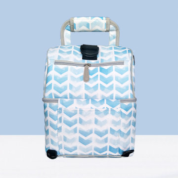 Unisex Blue Waterproof Insulated Lunch Bag Kühler Rucksack