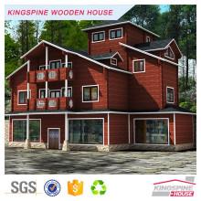 plan de maison moderne en bois préfabriqué pas cher