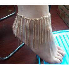 Fashion Summer Anklet with Metal Tassel