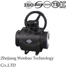 Dn50-Dn600 Válvula de bola flotante soldada con folato estándar Dn50-Dn600