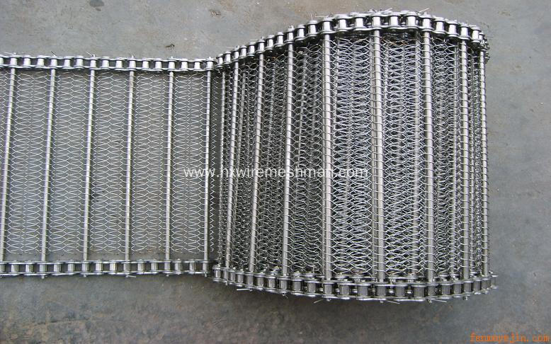 Spiral Wire Link Conveyor Belting