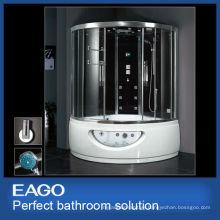 EAGO steam shower room with massage bathtub DA333F8 luxury bathroom solutions