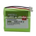 Bateria de 2,4V NI-MH Baterias de telefone sem fio AAA
