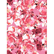 Pink Color Nylon Fabric Used for Swimwear and Sportswear (ASQ071)