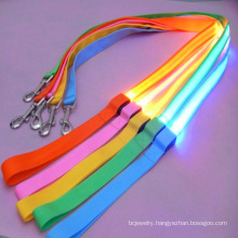 Hot Selling Pet Supplies Led Leash Dog Chain Tractor Pet With Luminous Rope Usb Charging Flashing Traction Rope Dog Rope