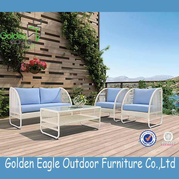 aluminium tube rope outdoor furniture