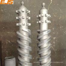 Zhejiang Zhoushan gêmeo paralelo de rosca e o cilindro para extrusora