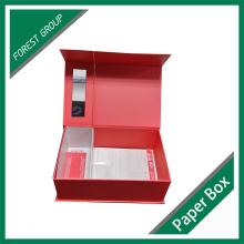 Caja de Hairpiece del cartón del diseño de encargo