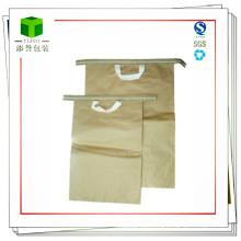 Handheld Seam Bottom Kraft Paper Bag for Iron Oxide Yellow