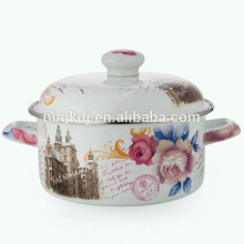 2015 best selling products custom enamel camping pot  2015 best selling products custom enamel camping pot