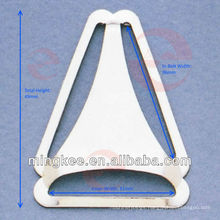 Triangle Belt Buckle for Bib Overalls (P4-76S)