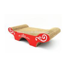 Produtos naturais multifuncionais SCS-7014 do gato do sofá do cartão / gato Scratcher