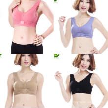 New Women′s Sexy Seamless Padded Lace Bras (MU2676-1)