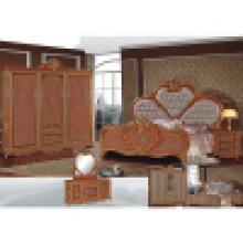 Cama do quarto para a mobília do quarto e a mobília do hotel (W807)
