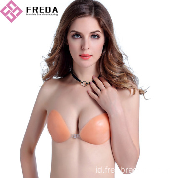 New Fashion Front Cover Silicone Stick On Bras