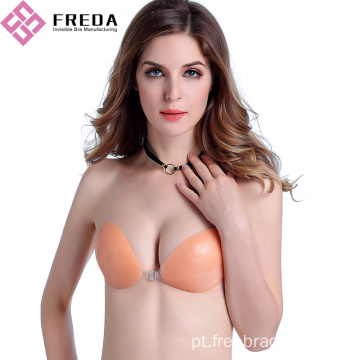New Fashion Front Closure Silicone Stick On Bras