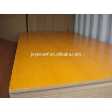 1220 * 2440 * 18mm melamina madeira compensada / melamina mdf / melamina blockboard / preço barato