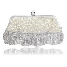 Жемчуг дамы вечер ужин клатч невесты мешок для Свадебные вечерние использовать для новобрачных сумки сумки дропшиппинг B00029