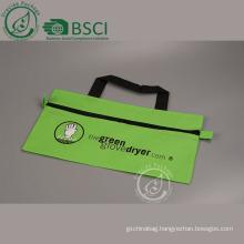 a4 zippered document bag