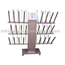 Stainless steel heat up water shoe shelf