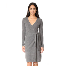 PK18A83HX 100% Cashmere Wrap Dress