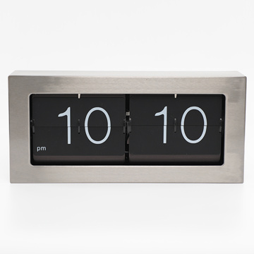 Simple Style Auto Flip Down Clock