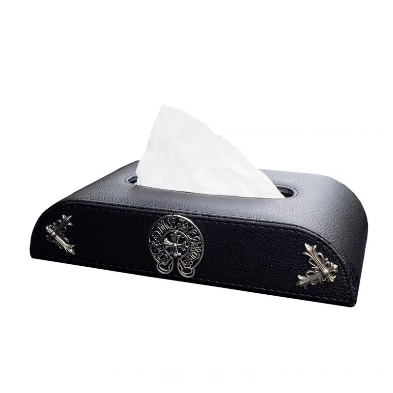 PU leather for rectangle Tissue box