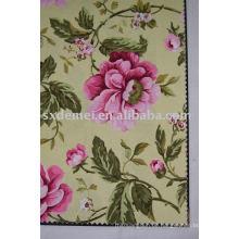 mehr als fünfhundert Muster Baumwolle canvas Stoff