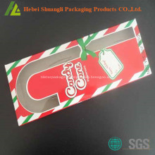 Disposable plastic candy cane packaging