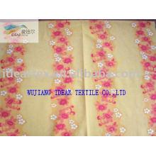 Impreso de poliéster 228T Taslon tela para ropa deportiva