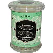 Dekoratives Werbungsglas Scented Soy Wax Candle
