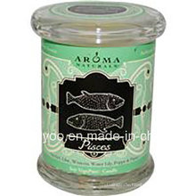 Home Decorative Promotional Jar Scented Soy Wax Candle