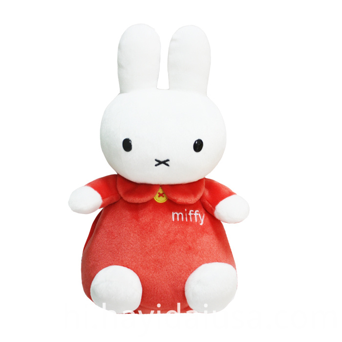 Red Miffy rabbit backpack