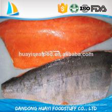 new landing frozen live fresh chum salmon fillet for sale